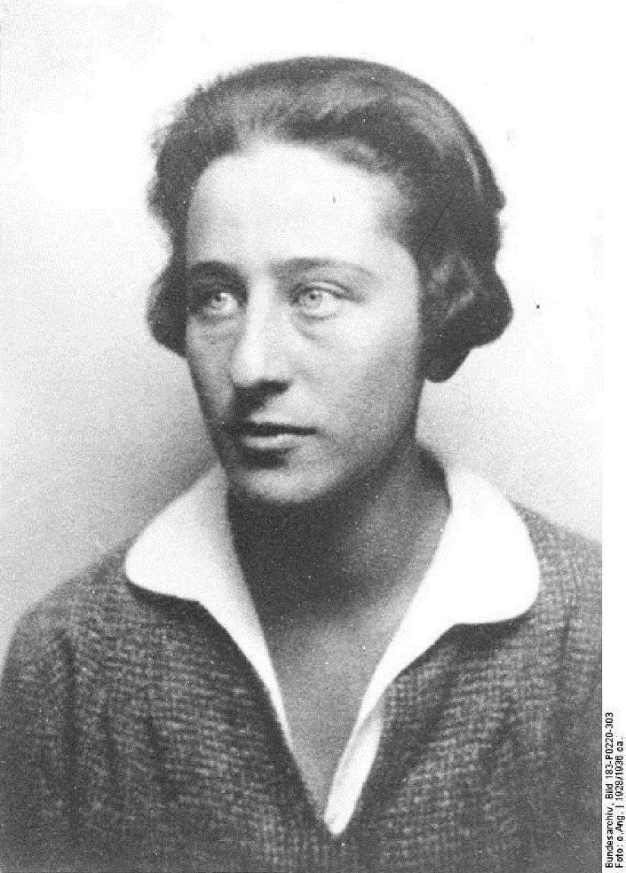 Olga Benário em 1928, na Alemanha