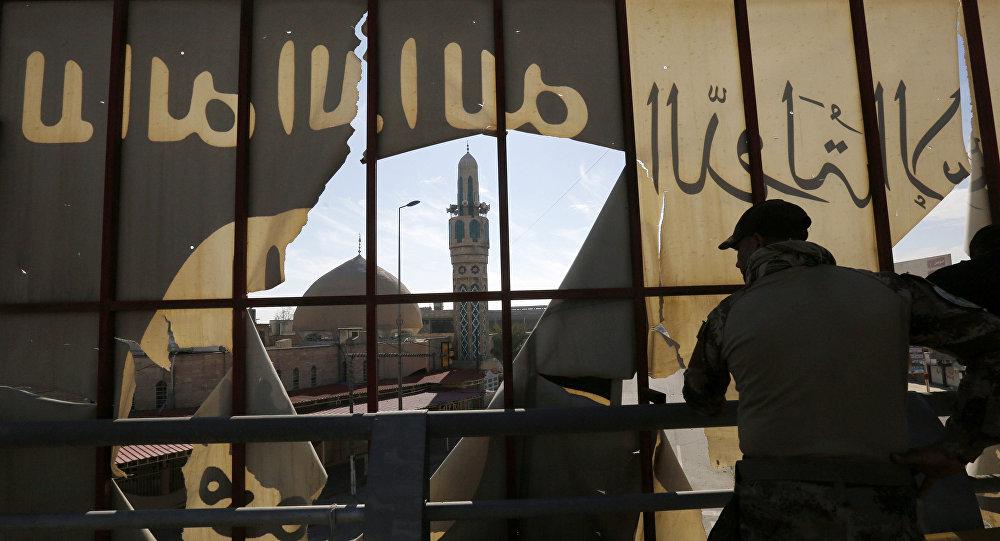 Tropas iraquianas em Mossul
