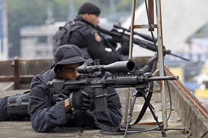 Policiais do BOPE