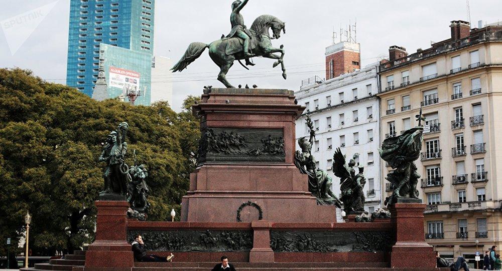 Centro histórico de Buenos Aires (foto de arquivo)