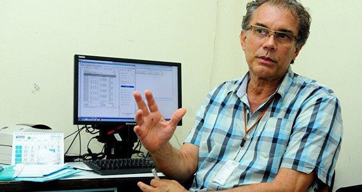 O gerente do Cerpis, Marcos Freire.