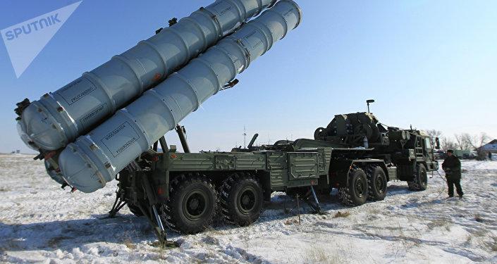 Sistema de mísseis russo S-400