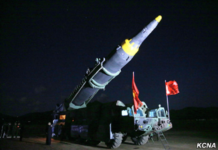 Míssil norte-coreano Hwasong-12