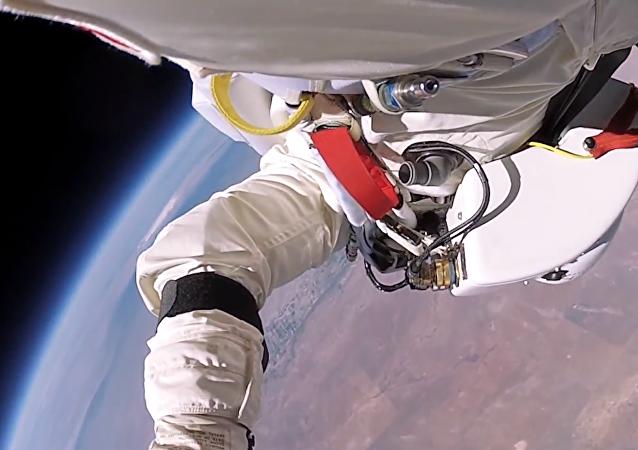 Salto inédito em espaço aberto