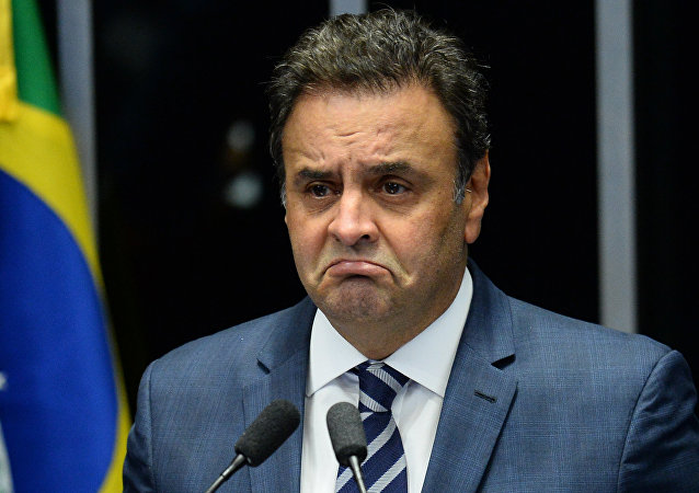 Aécio Neves no Congresso