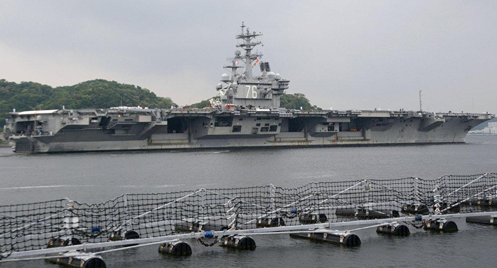 USS Ronald Reagan, porta-aviões norte-americano