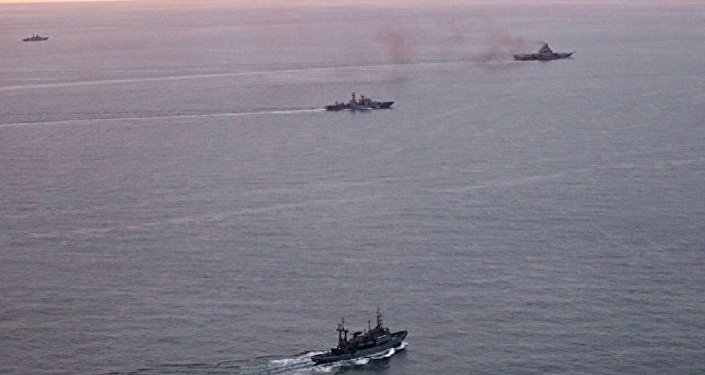 Grupo naval de combate da Frota do Norte da Rússia