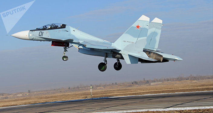 Su-30 da aviação russa