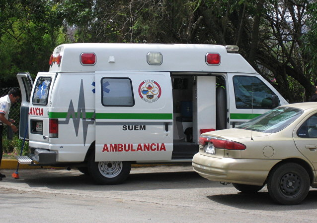 Ambulância mexicana (arquivo)
