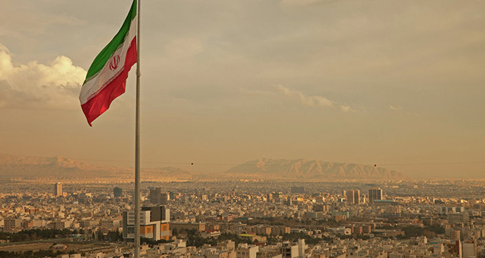 Vista de Teerã, capital iraniana