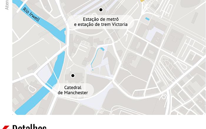 Atentado em Manchester: confira o mapa
