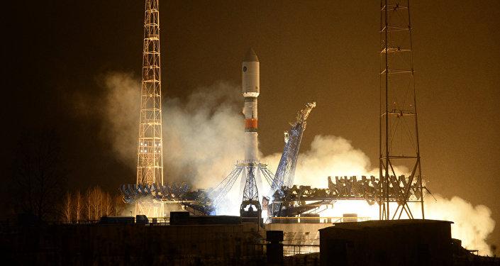 Lançamento do foguete portador Soyuz-2.1b. (foto de arquivo)