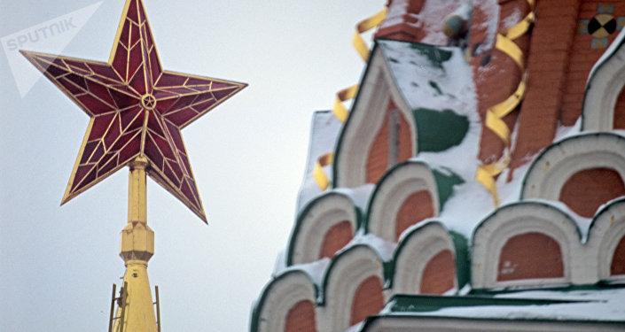 Kremlin de Moscou - Estrela da Torre Spasskaya