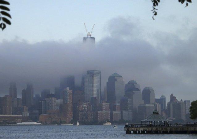 Vista do rio Hudson, em Nova York, Estados Unidos (arquivo)