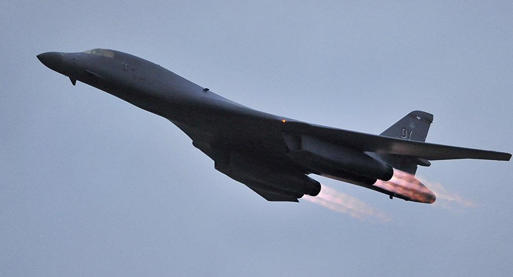 Bombardeiro B-1B da Força Aérea dos EUA (foto de arquivo)