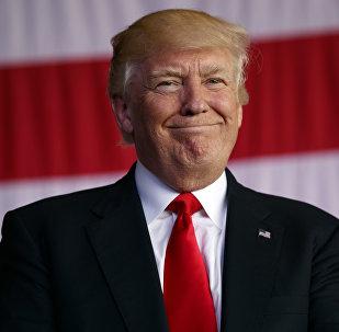 Presidente dos EUA, Donald Trump, 27 de maio, 2017