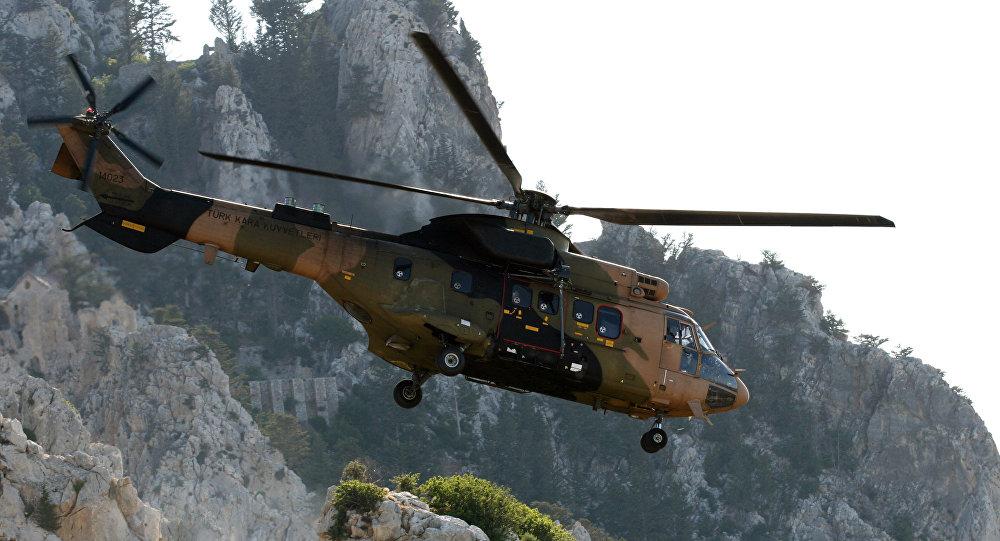 Helicóptero turco (foto de arquivo)