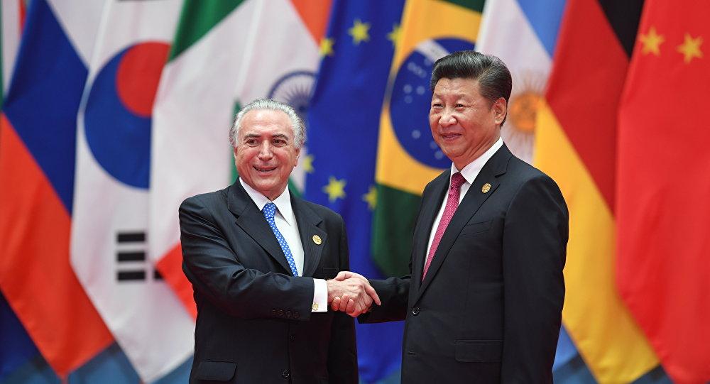 Resultado de imagem para brasil e china