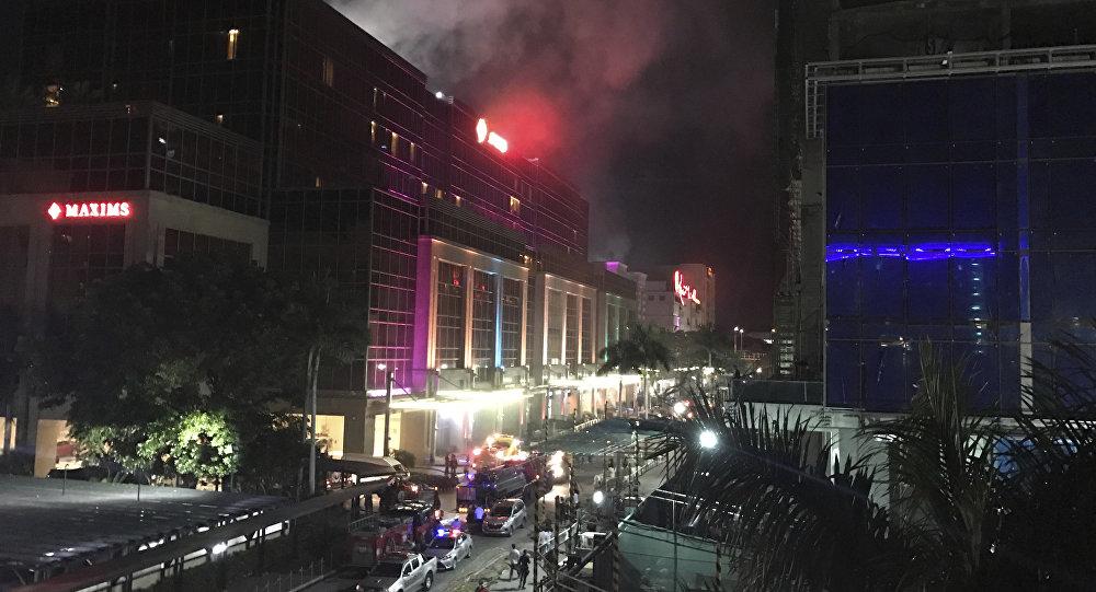 Tiros e explosões são ouvidos em resort das Filipinas