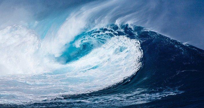 Um tsunami