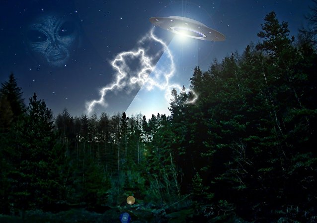 OVNI (ilustração artística)