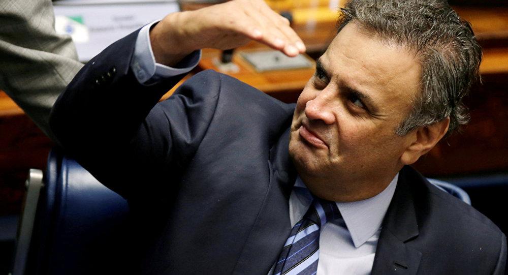 O senador do PSDB Aécio Neves (foto de arquivo)