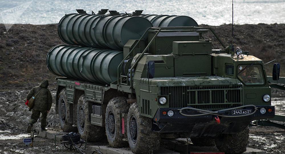 Sistema da defesa antiaérea S-400 russo
