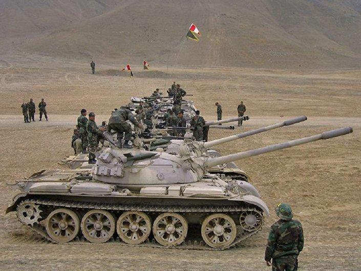 T-55 no Peru
