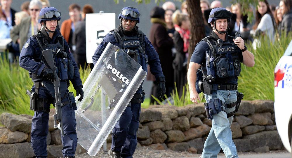 Polícia de Melbourne, Austrália (arquivo)