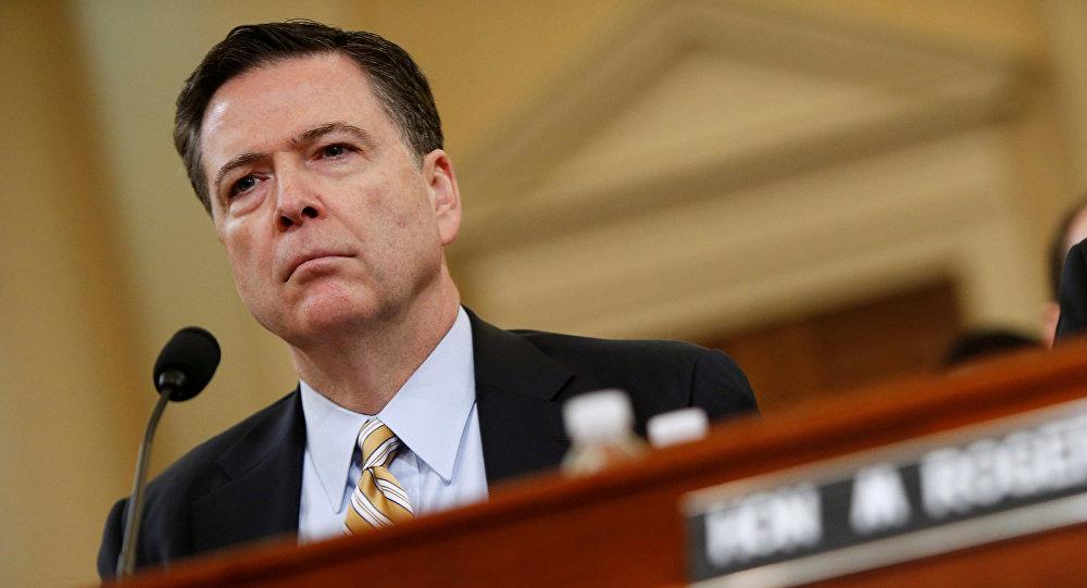 Ex-diretor do FBI, James Comey (Arquivo)