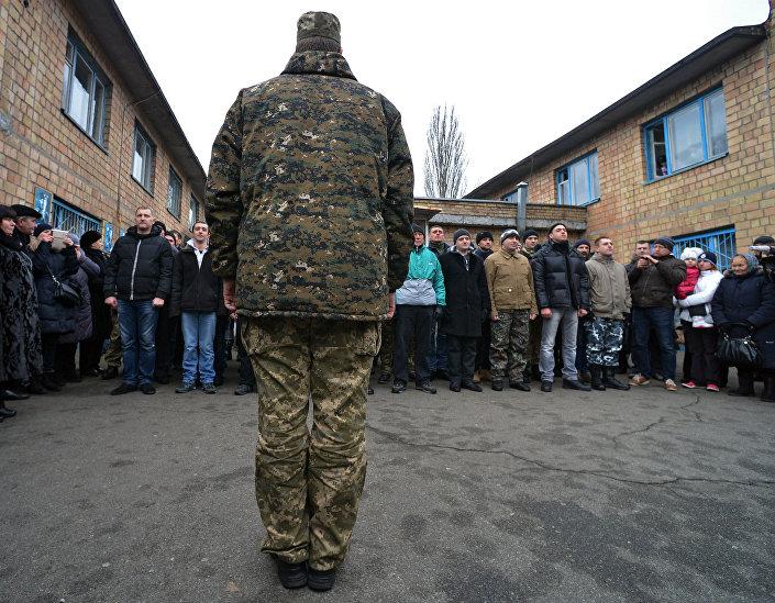 A quarta fase da mobilização na Ucrânia
