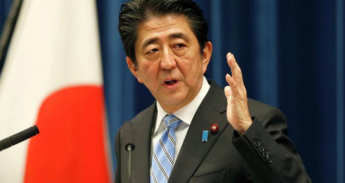 Primeiro-ministro do Japão Shinzo Abe