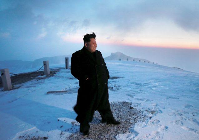 Líder norte-coreano, Kim Jong-Un.
