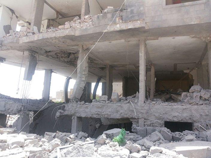 Consequências do bombardeio de Sanaa, capital do Iêmen