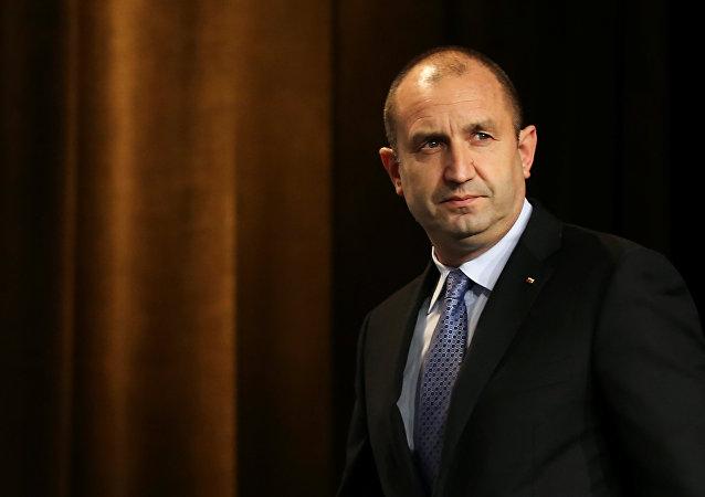 Bulgaria's President-elect Rumen Radev