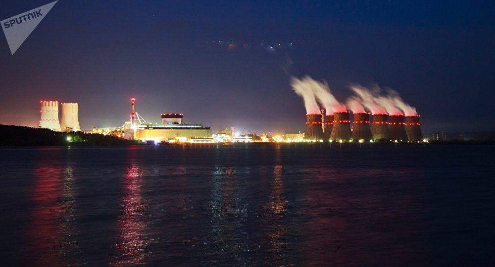 A usina nuclear Novovoronezh que possui o reator mais moderno da Rússia