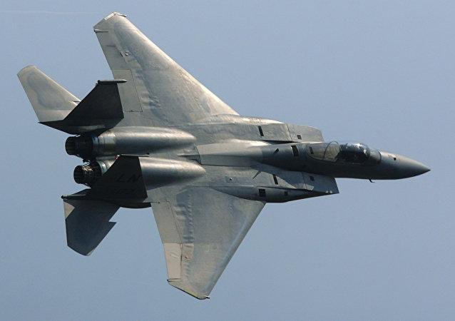 F-15 da Força Aérea dos EUA (arquivo)