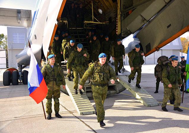 Exercícos militares Irmandade Eslávica 2016