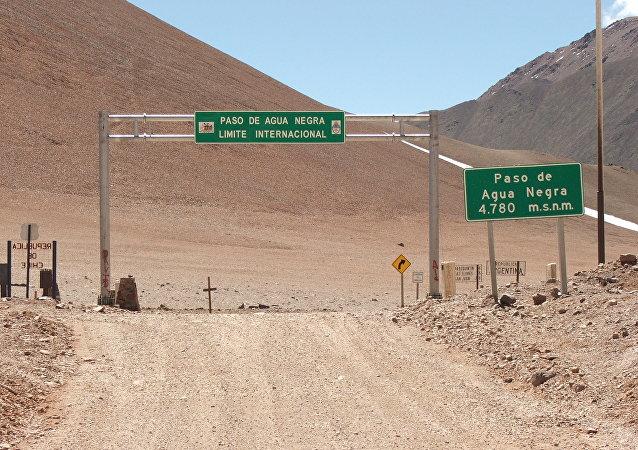 Passo de Água Negra, onde será construído o túnel mais longo da América Latina