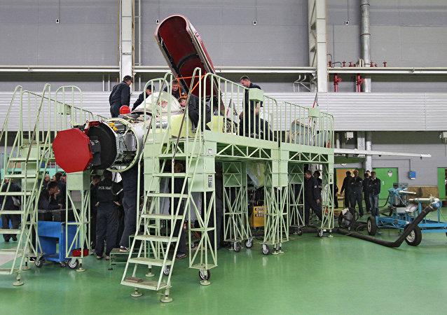 A fábrica da Maior empresa de aviação militar russa MiG