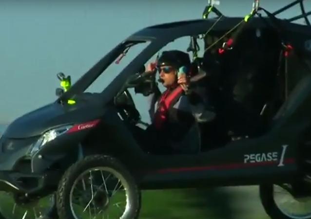 O carro voador