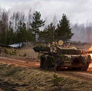 Tanques M1Abrams da OTAN (foto de arquivo)