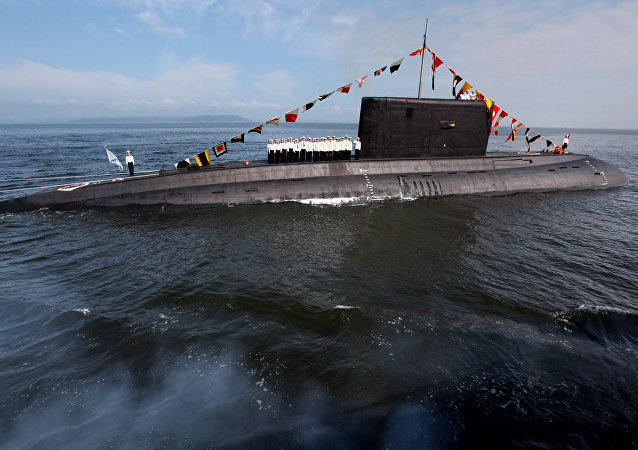 O submarino da classe Varshavyanka