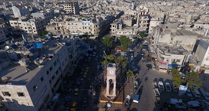 A cidade síria de Idlib
