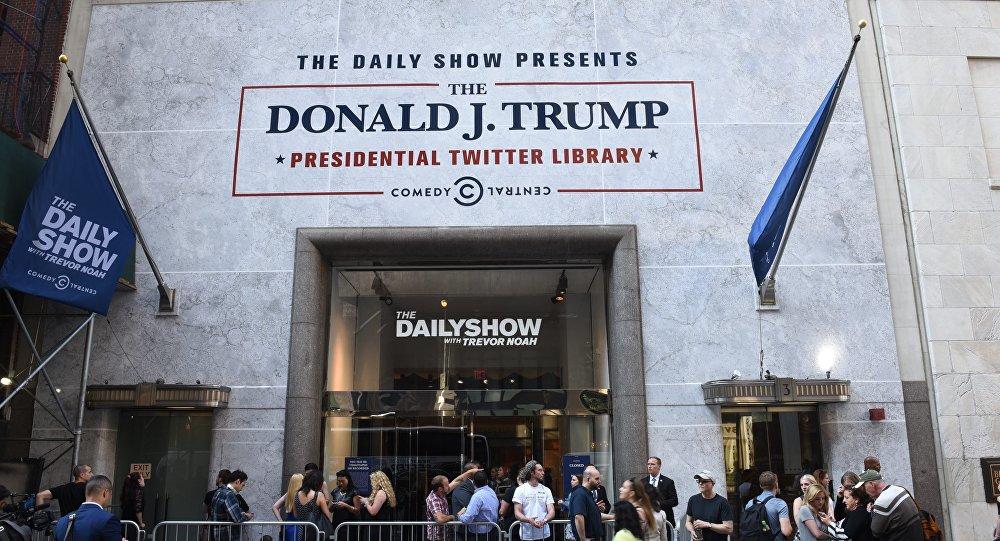A Biblioteca do Twitter do presidente Donald Trump