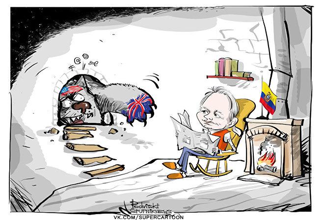 Assange: encarcerado por dizer a verdade sobre EUA?