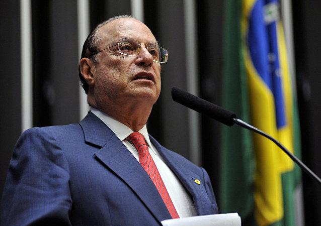 Deputado na Câmara dos Deputados, em 2014