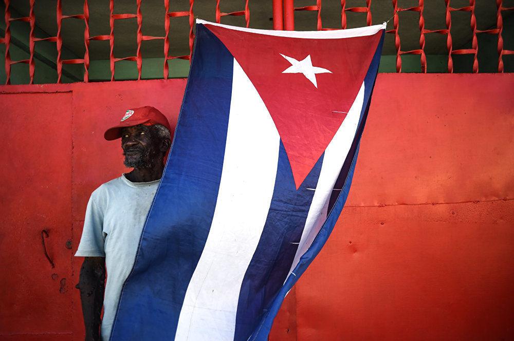 O quadrado preto de Fidel, da fotógrafa russa Cristina Kormilitsina