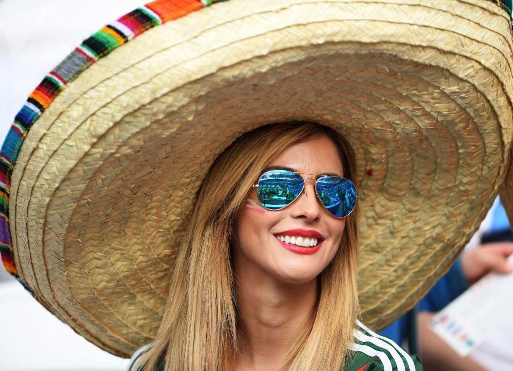 Torcida antes do jogo entre Portugal e México no âmbito da Copa das Confederações 2017