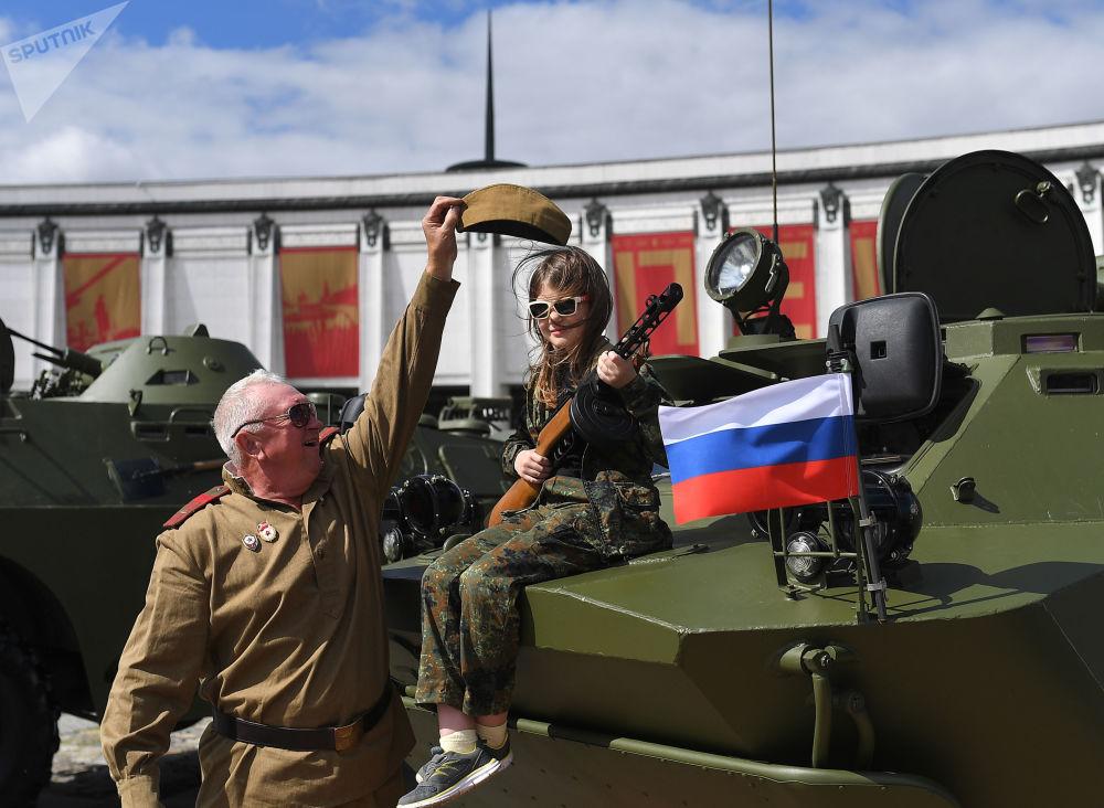 Desfile de armas em Moscou